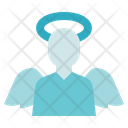 Funeral Angel Wings Icon