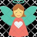 Angel Fairy Present Icon