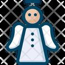 Angel Christmas Icon