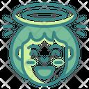 Angel Emoji Emoticons Icon
