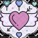 Angel Love Heart Icon