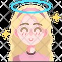 Angel Fairy Emoji Icon
