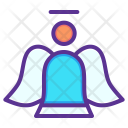 Angel Fairy Christmas Icon