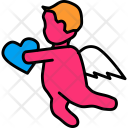 Angel Love Cupid Icon