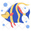 Angel Fish Fish Sea Animal Icon