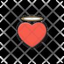 Angel Heart Love Icon