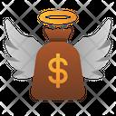 Angel Investor Loan Money Icon
