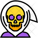 Angel Skull Monster Icon