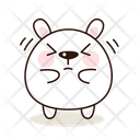 Anger Kawaii Cute Icon