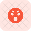 Anger Open Mouth Icon
