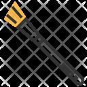 Angle Shadow Brush Icon