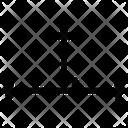 Science Angle Mathematics Icon