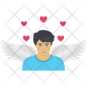 Angle Heart And Loving Arrows Icon