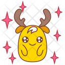 Angle Puppy Eye Sticker Icon