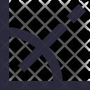 Angle Degree Geometry Icon