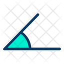 Acute Degree Geometry Icon