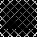 Acute Degree Geometry Icon