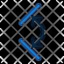 Arrows Dimension Angles Icon