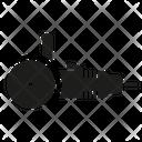 Angle Grinder Grinder Metalworking Icon