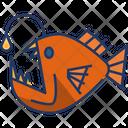 Angler Fish Animal Insect Icon