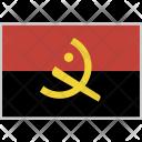 Angola Flag Country Icon