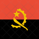 Angola Flag World Icon