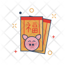 Chinese Culture Envelope Icon