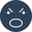 Angry Emotional Emoticons Icon