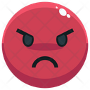 Angry Emoji Emotion Icon