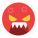 Angry Feeling Emoji Icon
