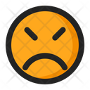 Angry Emoji Emoticon Icon