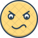 Angry Irritable Techy Icon