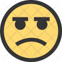 Angry Emoji Face Icon