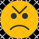 Angry Emoji Smiley Icon