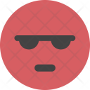 Angry Upset Red Icon