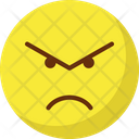 Angry Rage Emoticons Icon