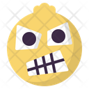 Angry Frustrated Emoji Icon