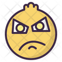 Angry Annoyed Frustrated Icon