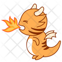 Angry Mad Sticker Icon