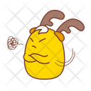 Angry Hostility Sticker Icon