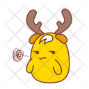 Angry Unhappy Sticker Icon