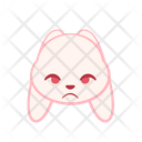 Heart Emotion Expression Emoji Face Animal Angry Annoyance Icon