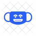 Angry Mask Virus Icon