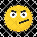 Angry Unhappy Sad Icon