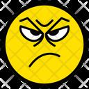 Angry Furious Upset Icon