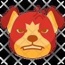 Angry Emoji Emoticon Icon