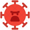 Angry Coronavirus Emoji Coronavirus Icon