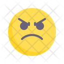 Angry Hateful Emotion Icon