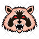 Animal Mascot Angry Animal Wild Creature Icon