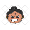 Angry Aunt Icon